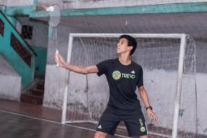 Felipe Ribeiro, atleta do projeto #ÉoBad - Foto Divulgação Instituto Trevo