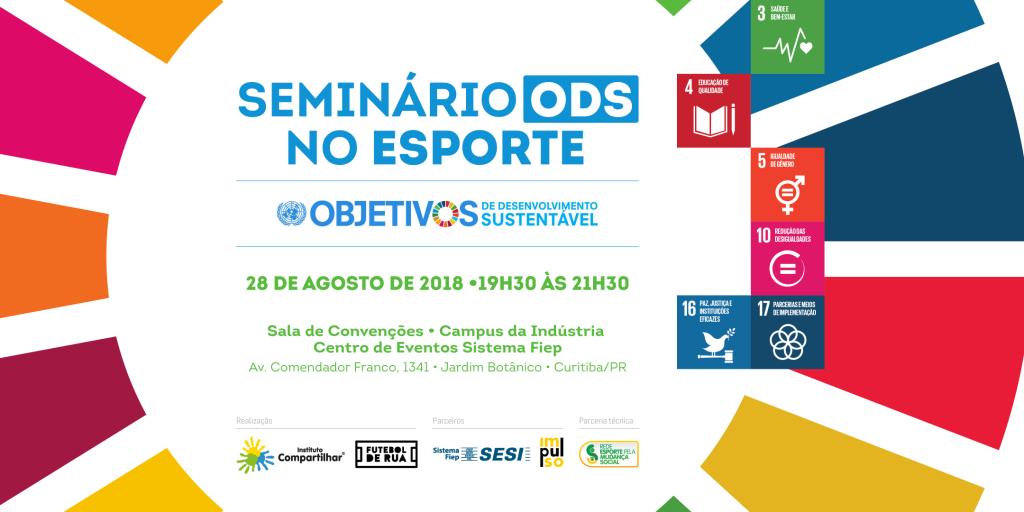 Seminário ODS no Esporte