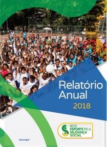 print capa relatorio anual 2018